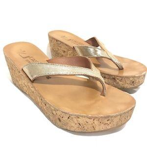 13006856428e9 Shoes - K Jacques St Tropez Wedge Sandals Diorite